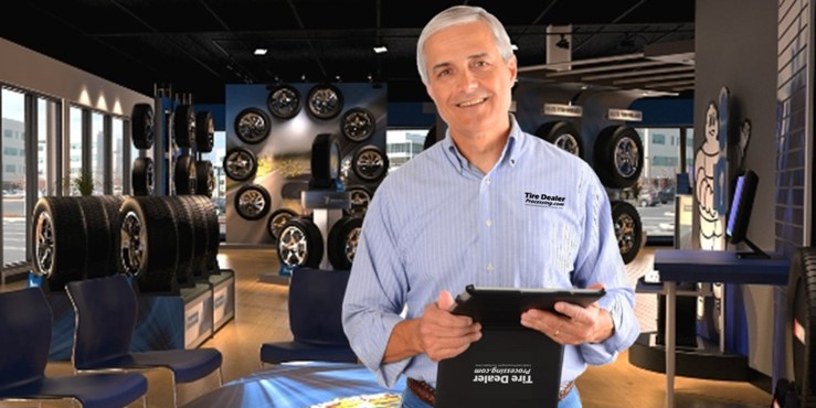 Tire Dealer using Tire Dealer Credit Card Processing